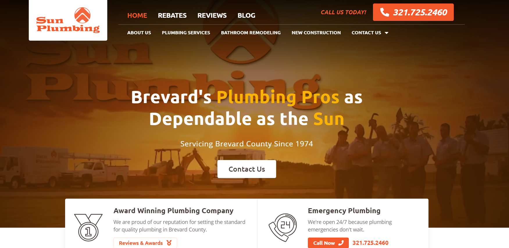 Reputation Management – The Cherry on Top of Sun Plumbing's Revamped Website