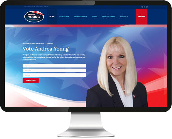 Andrea Young Web Design