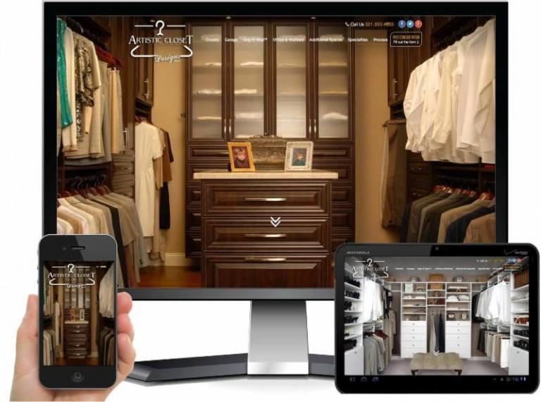 Artistic Closet Website