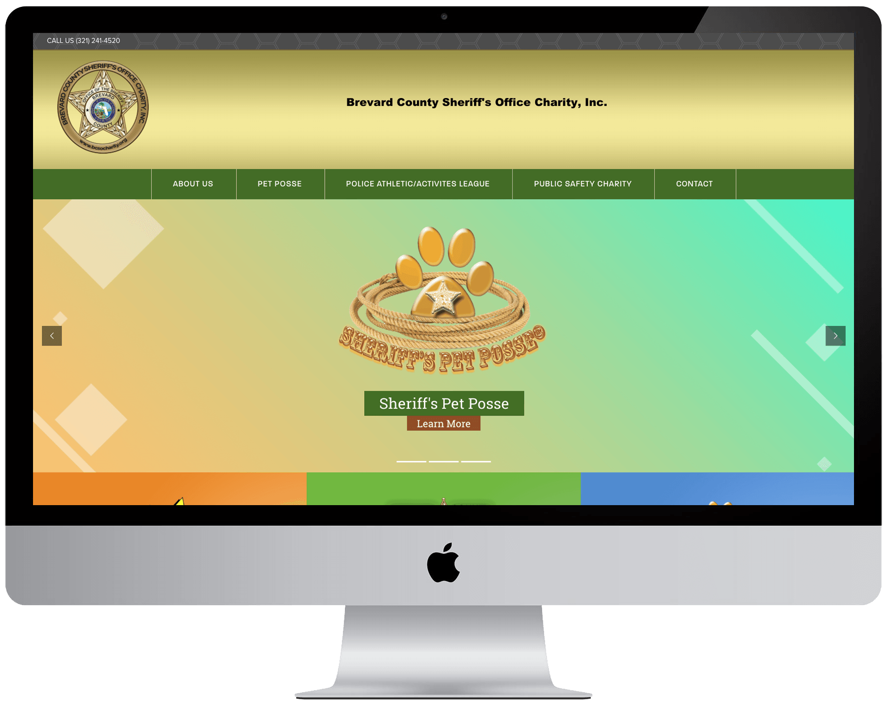 Brevard County Sheriff's Office Charity Website