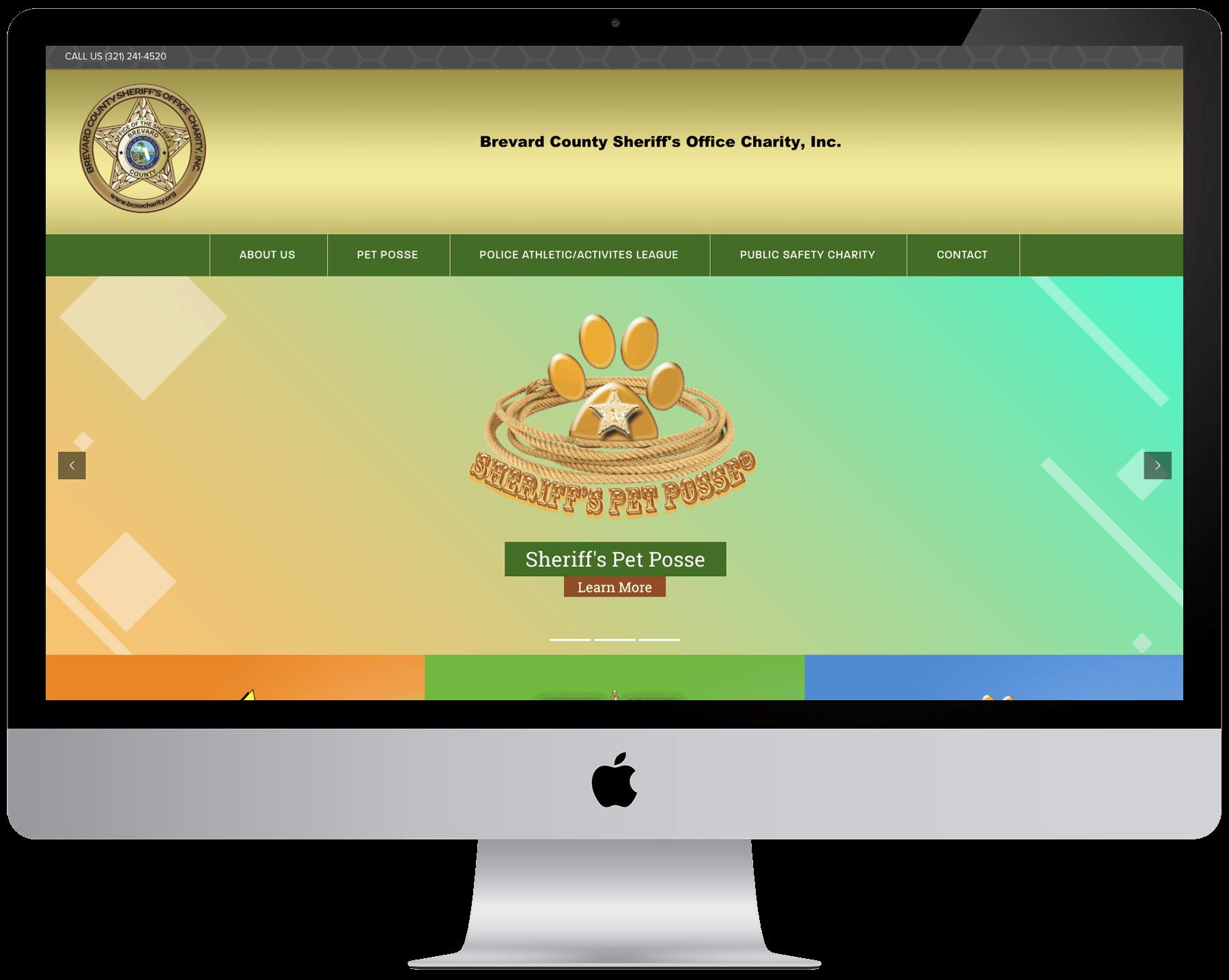 Brevard County Sheriff's Office Charity Website