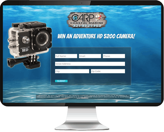 Carp Coastal Marine website