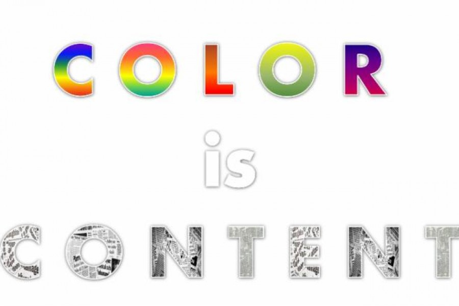 Color Is Content
