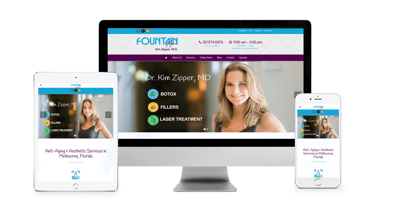 Fountain of You Website