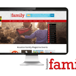 Houston Family Magazine website launch