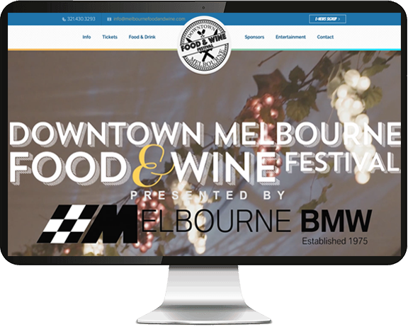 Melbourne Food and Wine Festival website