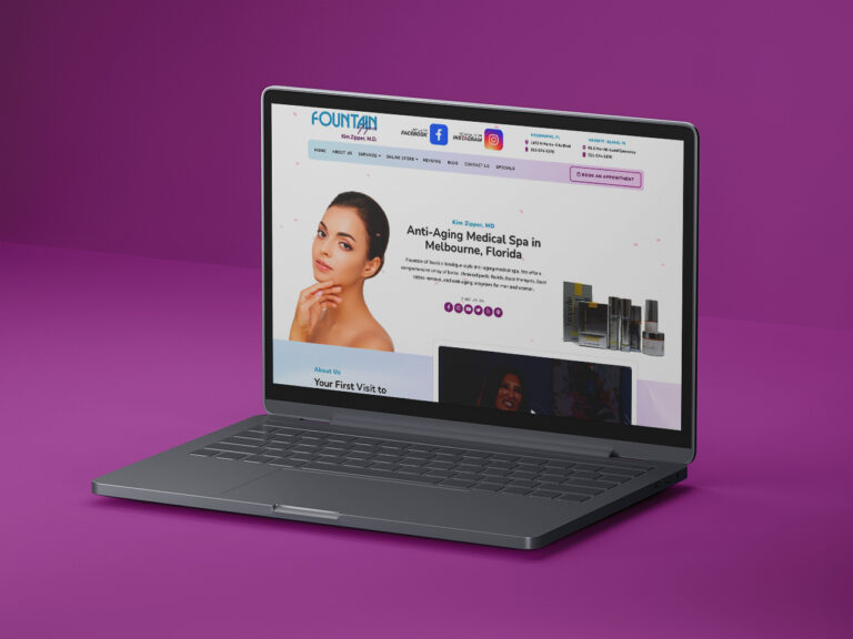 Fountain of You Med Spa Website Design