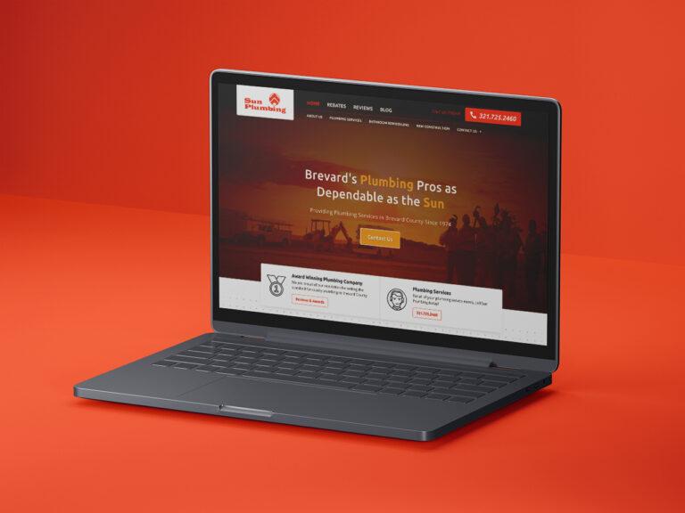 Sun Plumbing Company Website Design