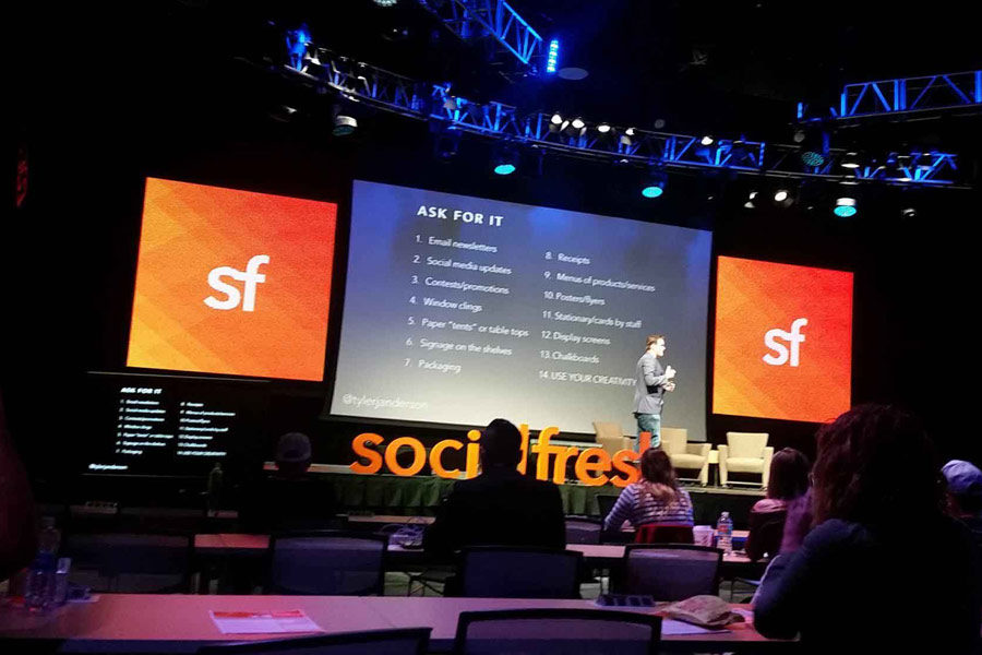 Tight Line Attends Social Fresh 2017