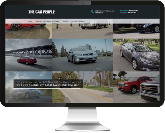 The Car People Website Design