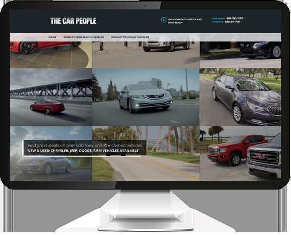 The Car People Website Design