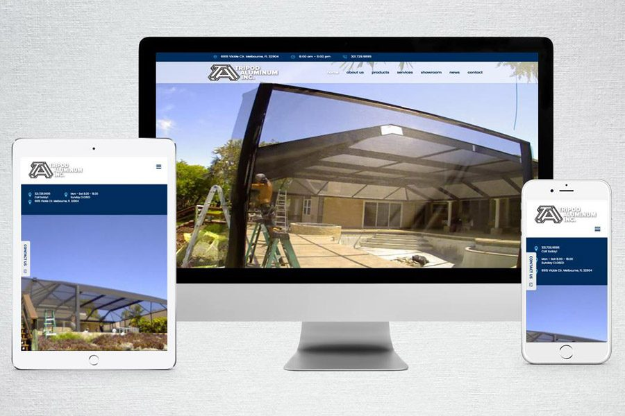 Teamwork is Key: TLP Launches New Website for Tripod Aluminum Inc.